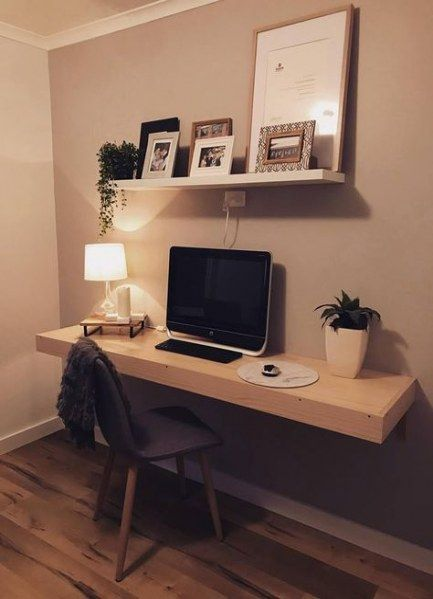 57 Trendy Diy Desk Floating Guest Rooms Desk In Living Room Diy Computer Desk Cheap Office Furniture