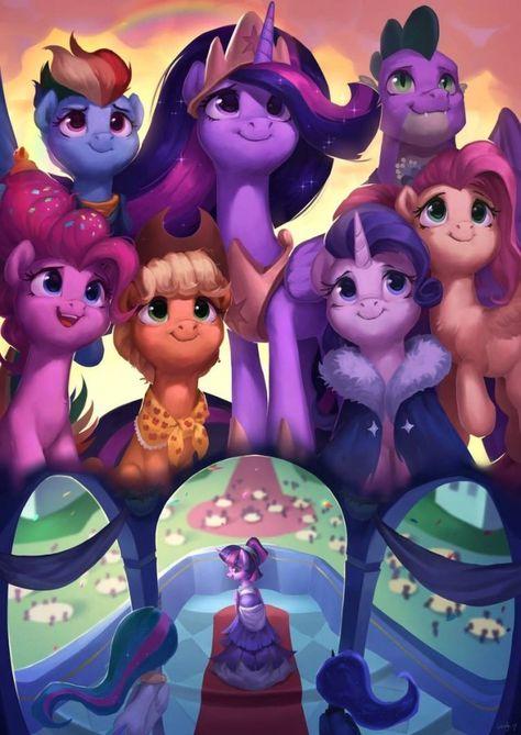 Together by LA-ndy on DeviantArt My Little Pony Twilight, My Little Pony Princess, My Little Pony Comic, My Little Pony Pictures, Mlp My Little Pony, My Little Pony Friendship, Rainbow Dash, Dessin My Little Pony, My Little Pony Drawing