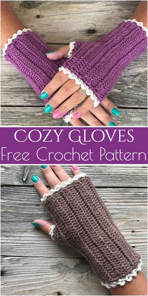 New Crochet Patterns Free Fingerless Gloves Colour Ideas Crochet Fingerless Gloves Free Pattern, Fingerless Gloves Knitted, Mittens Pattern, Crochet Wrist Warmers, Crochet Scarves, Crochet Poncho, Crochet Hats, Crochet Accessories, Free Crochet
