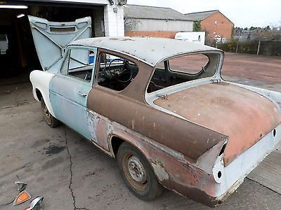 Ford Anglia 105e 1200 Super Rolling Shell Rally Car Project Http Www Classiccarsunder1000 Com Archives 52630 Retro Cars Car Projects Ford Anglia
