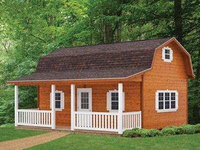 GAMBREL CABINS FOR SALE IN OHIO AMISH BUILDINGS we bout to