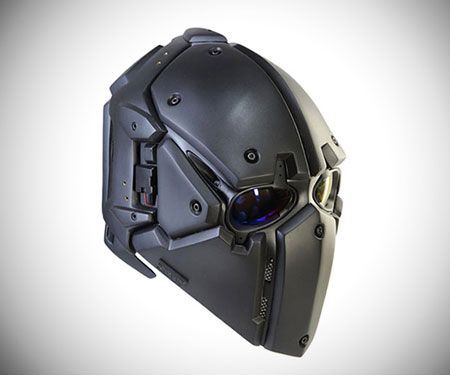 The Devtac Ronin Kevlar Tactical Helmet Is A Bulletproof Beauty That Looks Like It Came Out Straight From The Set Of A Star Wars Movie Tactical Helmet Helmet Tactical Armor