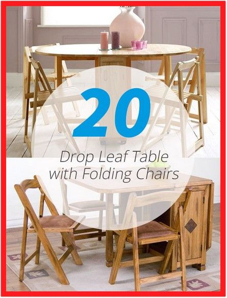 58 Reference Of Dining Table With Folding Chair Storage In 2020 Drop Leaf Table Wooden Dining Room Chairs Folding Dining Chairs