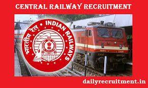 Central Railway Recruitment 2019 Recruitment Create Free Blog Free Blog Sites
