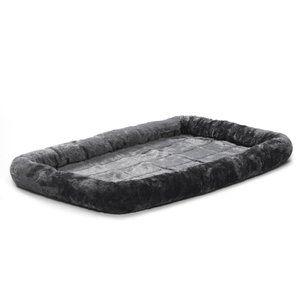 Albert Bolster Dog Pet Beds Grey Dog Bed Dog Crate Mats