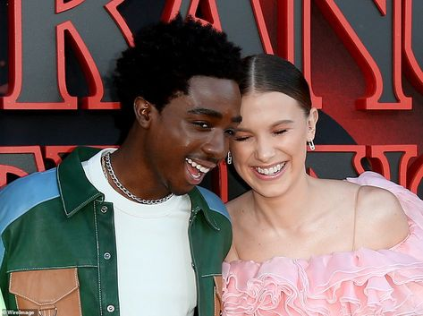 Millie Bobby Brown steps out at the Stranger Things premiere in LA