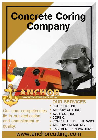 Pin On Concrete Coring Services