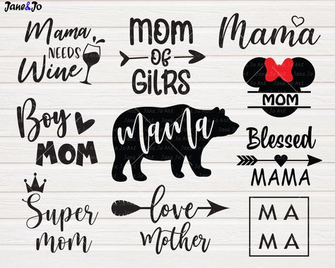 """""""MOTHER'S DAY SVG Bundle , Mom svg, Mom life quotes svg bundle,Mother svg Clipart, Cut files Circut, happy mother's day Print * * * * * * * * * * * * * * * * * * * * * * BUY 2, GET 1 FREE! Purchase any 2 items and get a 3rd item of equal or lesser value free! Add all three items to your cart and use coupon code BUYME to redeem your offer. Please make sure that the discount has been applied before you proceed with your payment. Add three items to your cart and don't miss our coupon code: BUYME An"""