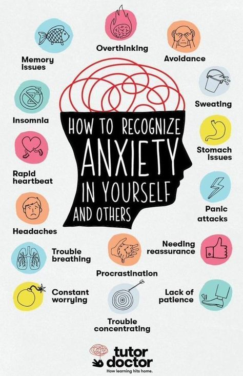 How to Recognize Anxiety in Yourself and Others Click Here for The Namaste T-Shirt ! !