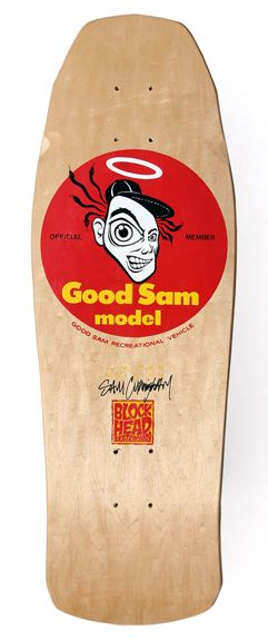 Roseville Sams Club Sams Club >> 1987 Blockhead Skateboards Model Sam Cunningham Pro Model
