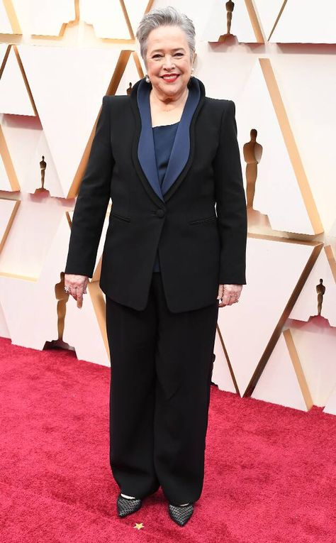 Kathy Bates From Oscars 2020 Red Carpet Fashion Em 2020