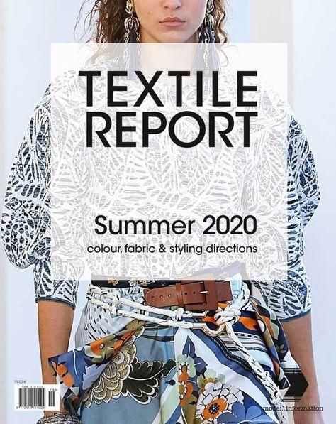 Textile Report -Magazine Subscription (France) - (Print Edition)  #edition #france #Magazine #Print #report #subscription #textile