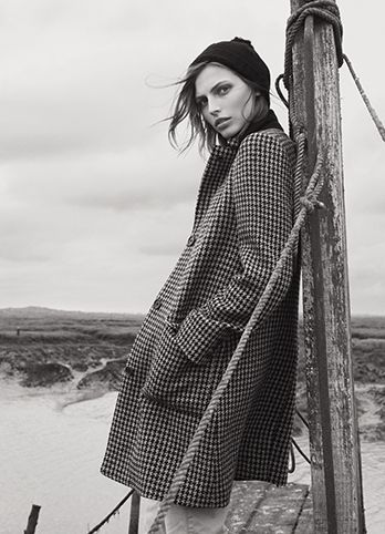 MARGARET HOWELL AUTUMN WINTER 2014 CAMPAIGN Photographed in Tollesbury Saltings, Essex, UK. Photographed by Glen Luchford