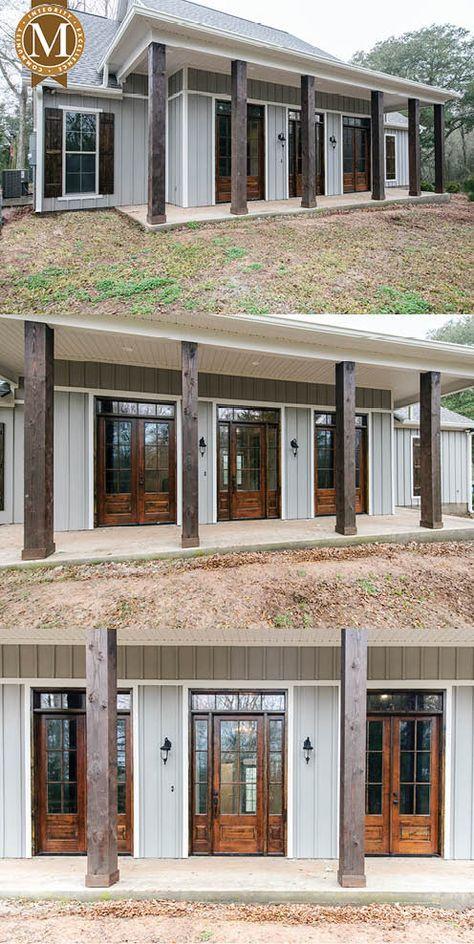 Custom Living Sq Ft 2 498 Bedrooms 3 Baths 2 5 Louisiana Lafayette Lake Charles Baton Rouge Metal House Plans Barn House Plans Pole Barn House Plans