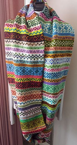 111 best Fair Isle images on Pinterest | Fair isle knitting ...