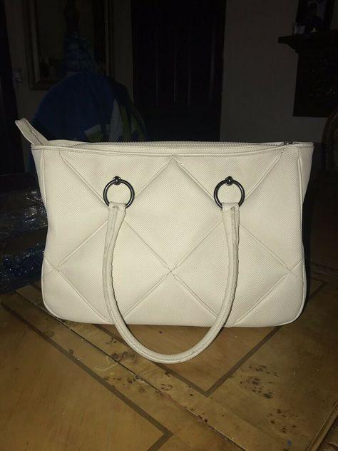 bfb53603e29e71 BOTTEGA VENETA IVORY OFF WHITE WOVEN LEATHER BAG TOTE SHOPPER CARRYALL  Authentic #fashion #clothing