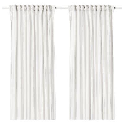 Glansnava Curtain Liners 1 Pair Light Gray 56x94 Curtains