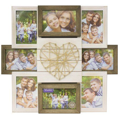 93f79b422422cba78727baf81c0bbb18 - Better Homes And Gardens 4 Opening Rustic Windowpane Collage Frame