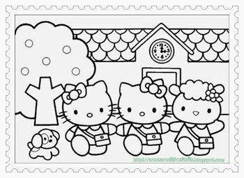 ภาพระบายส ค ตต ช ดท 1 ภาพระบายส สำหร บเด ก ระบายส ร ปการ ต น ฝ กห ดวาดภาพ ฝ กวาดการ ต น Hello Kitty Coloring Kitty Coloring Hello Kitty Colouring Pages