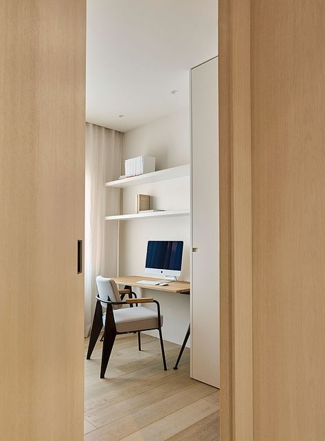 Dm Apartment Is A Minimal Located In Barcelona Spain Designed By Francesc Rifé Studio That S Divided Into Two Main Areas