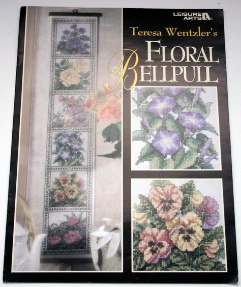 Floral Bellpull Teresa Wentzler cross stitch pattern
