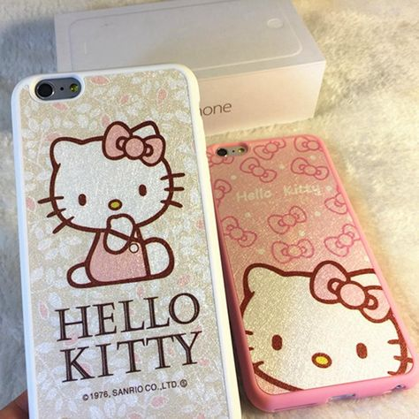 custom phone cases for iphone 6 plus new fashion kawaii case frostedcustom phone cases for iphone 6 plus new fashion kawaii case frosted silicone case hello kitty cell phone case phone cases from peret, $2 31 dhgate com