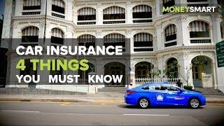 4 Things You Must Know About Car Insurance In Singapore Car