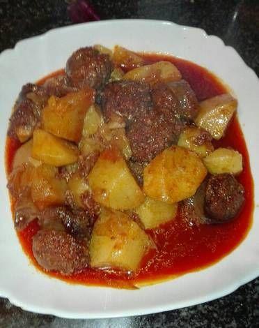 Patatas Al Estilo Riojano Con Chorizo De Jabalí En La Olla Gm G Receta De Mari Ramos Receta Chorizo Recetas Con Chorizo Comida étnica