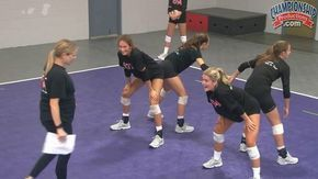 Inside Out Passing Volleyball Drill From Anne Kordes Youtube Volleyball Drills Volleyball Training Coaching Volleyball