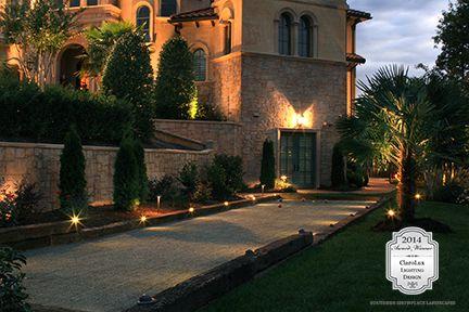 Congratulations To Carolina Outdoor Lighting Professionals Winner Of Landscape Garden Area Categor With Images Landscape Lighting Led Landscape Lighting Outdoor Lighting
