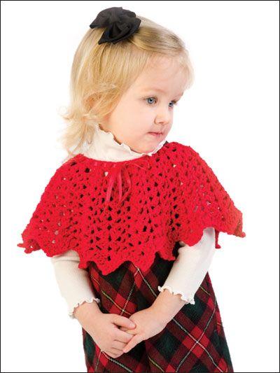 Shells & Picots Poncho free crochet pattern
