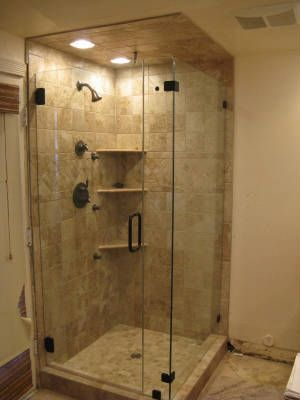 Corner Shower Reno @J WandJeannette Killough This Might Work For The  Bathroom | Dream House | Pinterest | Small Bathroom, Bath And Showers