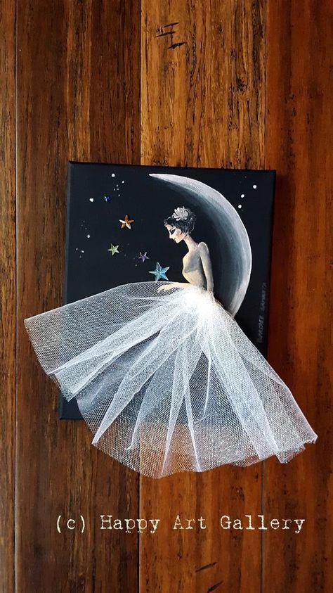 Moon Princess Fairy doll fairy house pixie princess birthday | Etsy