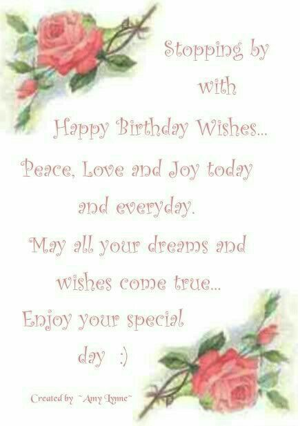 Pin By Janet Dalton On Birthday Greetings Anniversary Wishes Etc