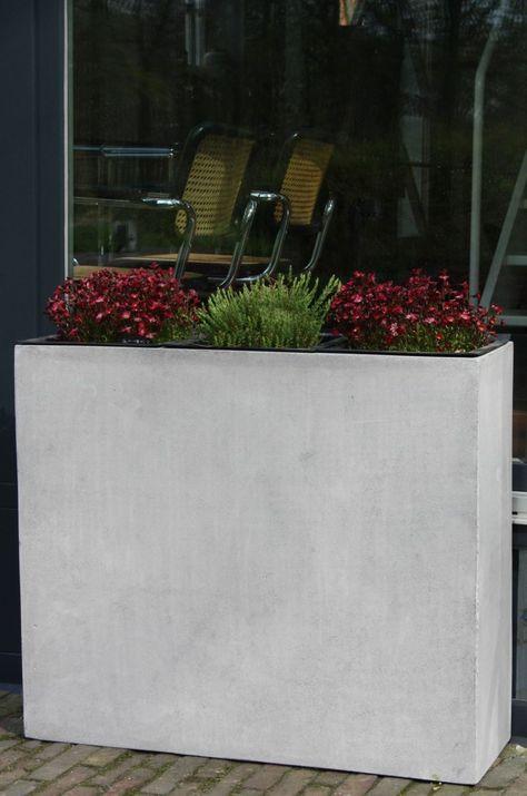 Beton Pflanzkübel selber machen Planters, Gardens and Plants - sichtschutz beton selber machen