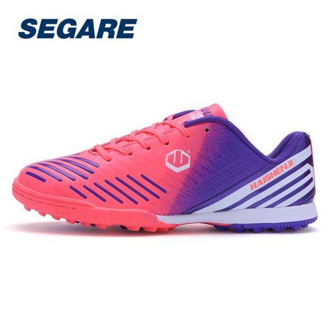7403c28af Boy Kids Men Cleats Boots Turf Football Soccer Shoes Artificial turf Outdoor  Sneakers Trainers Adults Sport ShoesSE091206 //Price: $US $26.87 & FREE ...
