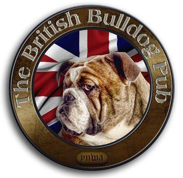 The British Bulldog Pub – Columbia, SC Logo www.iloverockstardad.com