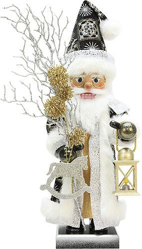 Nutcracker+Santa+Claus+glitter,+limited+-+52,0cm+/+20.5inch