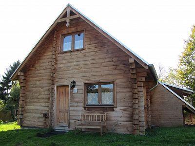 Schones Kleines Holzhaus Mitten Im Grunen Sauber Und