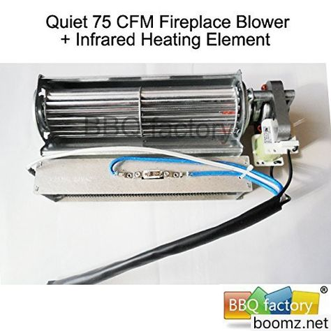 Bbq Factory Replacement Fireplace Fan Blower Heating Element For