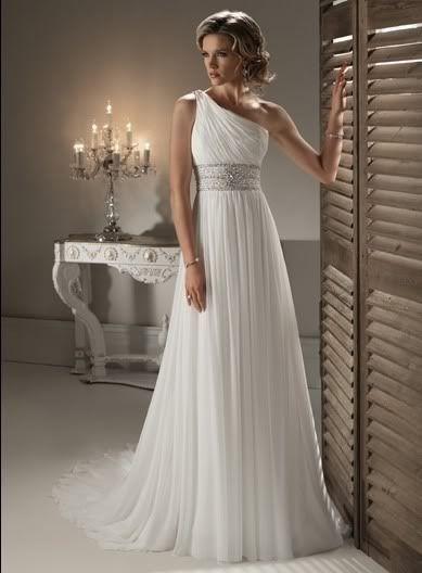 svatební šaty na jedno ramínko antické šité na zakázku - plesové šaty 150fb237a6d