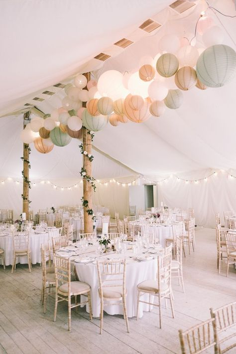 Pretty & Light Pink Country House Wedding
