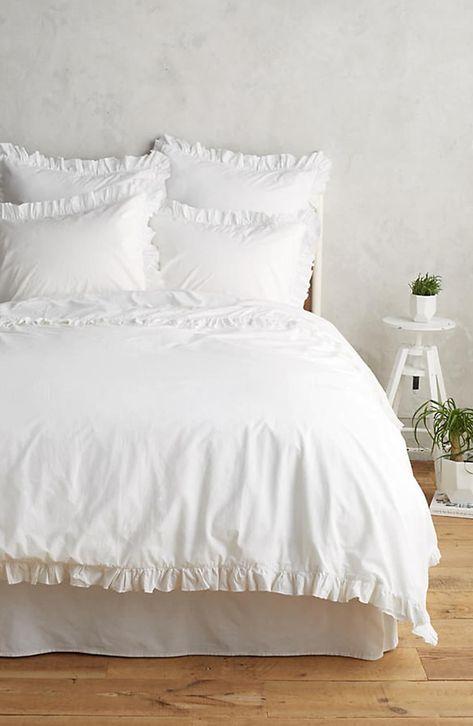 Pom Pom At Home Madison Duvet Cover Sham Set Size King White