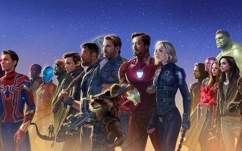 Superheros, marvel, artwork, 2018 wallpaper