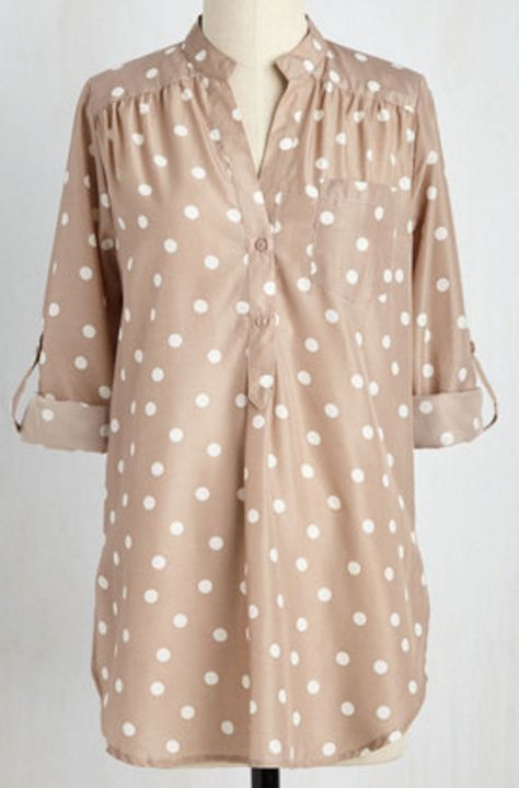 Love this dotted tunic