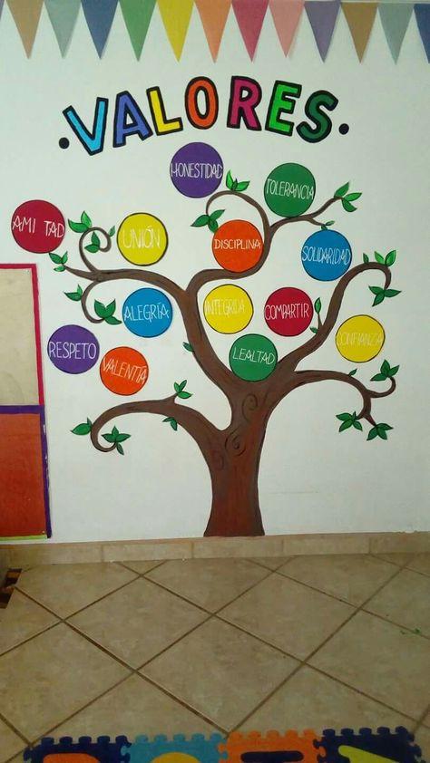 Murales Infantiles De Valores