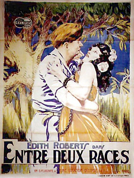 The adorable savage Edith Roberts 1920 movie poster