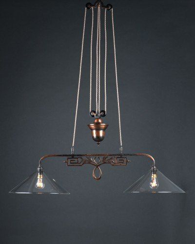 Gorgeous 1930s Oxidised Copper Double