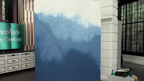 DIY ombre: How to paint an eye-catching statement wall   CBC Life