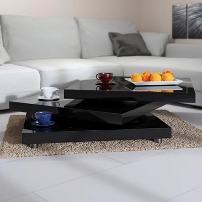 table basse de salon moderne 60 x 60 cm
